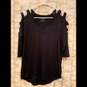 Express 3 quarter length top